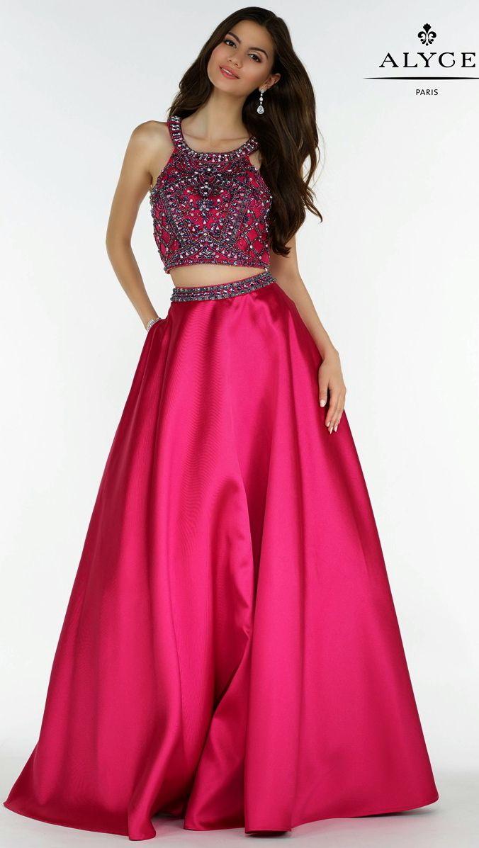 Excepcional Vestidos De Fiesta Por Alyce Regalo - Colección de ...