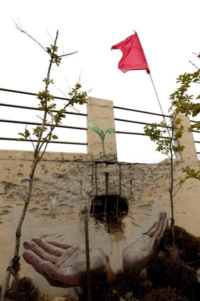 포탄 구멍에 새싹 그린 벽화 … 연평도는 치유 중 :: 네이버 뉴스
