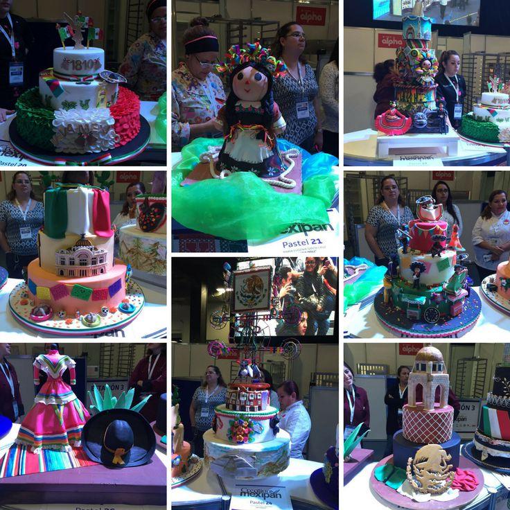 Estos son algunos de los pasteles de los semifinalistas de Creativos Mexipan. ¡Vota por tu favorito en la página! #Mexipan2016 #CreativosMexipan #pasteles #pastelería #bakery