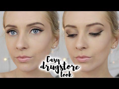 Easy DRUGSTORE Make-Up Look ♡ fabuloushannah - YouTube