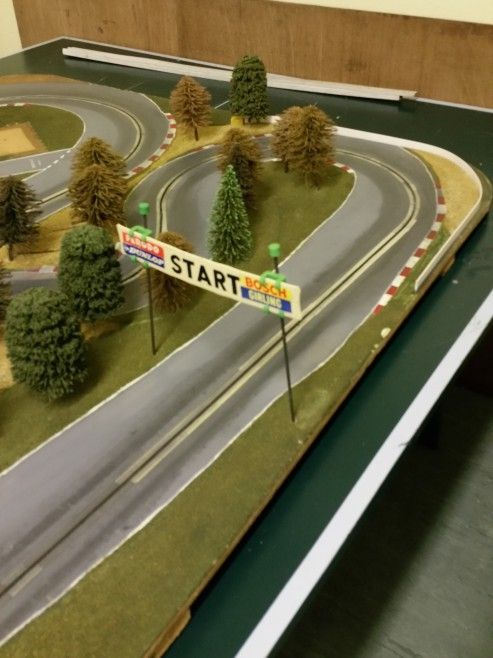 our rally track be readied for the stafford castle classic car show