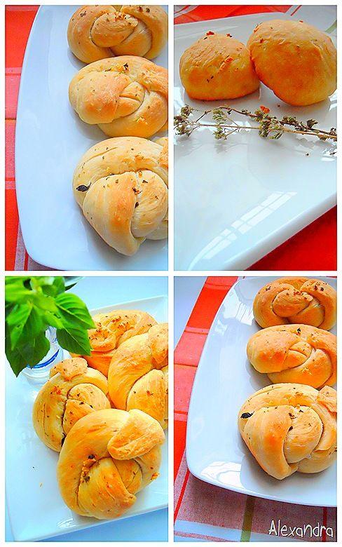 Ατομικά αφράτα ψωμάκια ή σκορδόψωμα