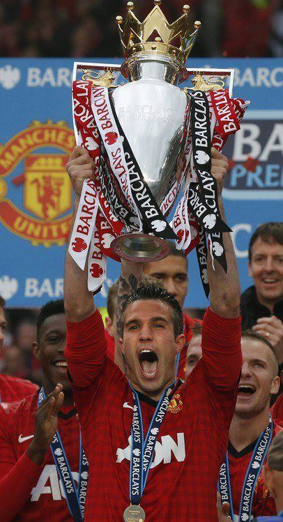 English Premier League champions 2013, Manchester United