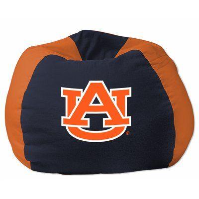 COL Bean Bag Chair NCAA Team: Auburn, Upholstery: Navy Blue/Orange - http://delanico.com/bean-bag-chairs/col-bean-bag-chair-ncaa-team-auburn-upholstery-navy-blueorange-736257341/