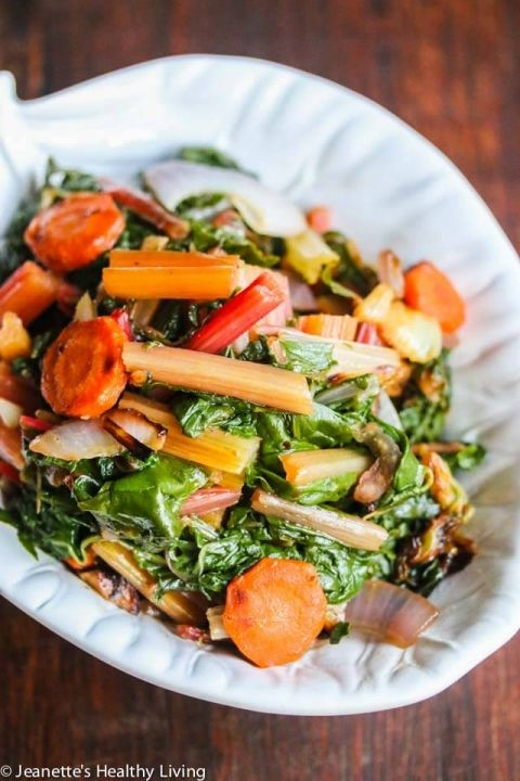 Sauteed Swiss Chard with Carrots and Celery | Recipe | Celery recipes ...