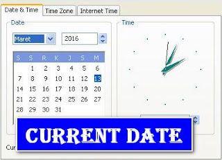 Memasang Tanggal Hari Ini (Current Date) di Blog
