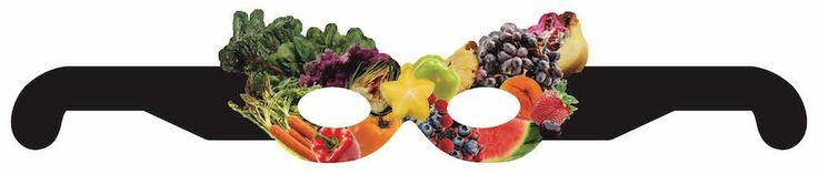 Fruit and Vegetable Mask - 25-Pack - Wellness Fair Prize Health Promotion Incentive