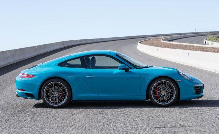 2017 Porsche 911 Carrera S Side
