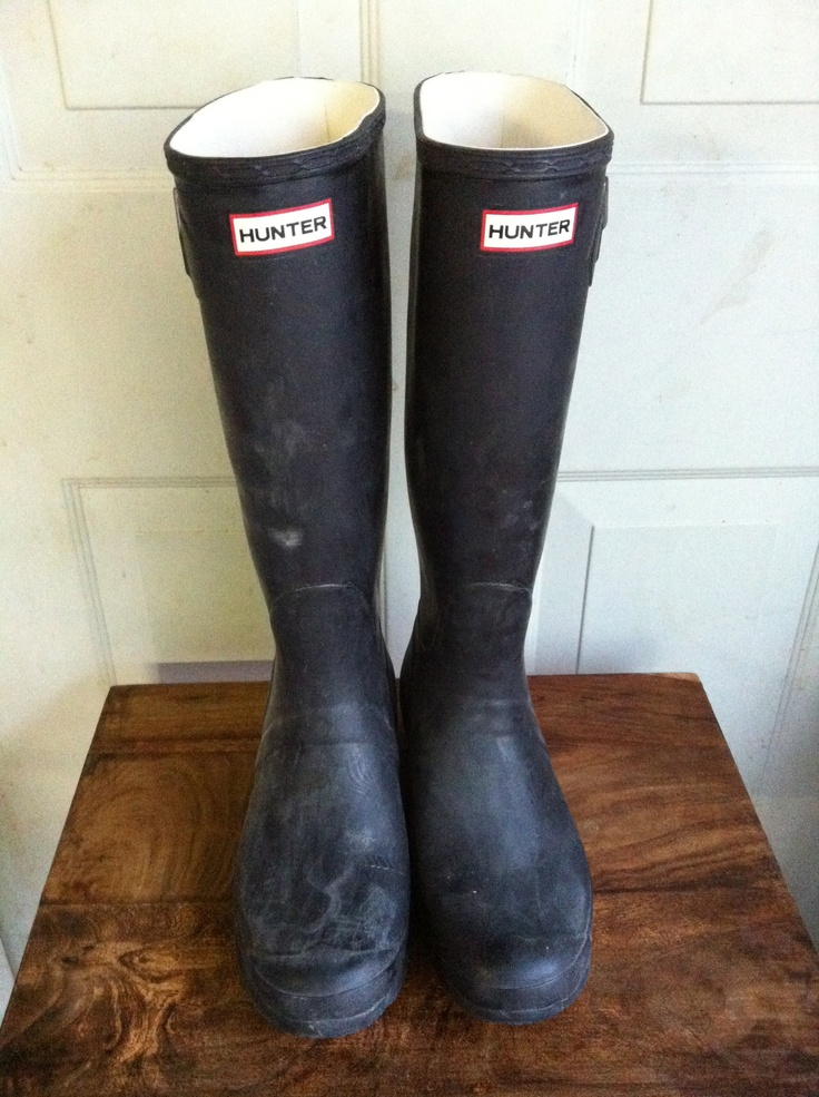 A pair of Wellies