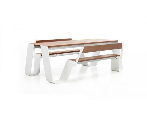Extremis Hopper Table 180 Cm With Back Rests Retail