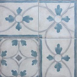 Exquisite Surfaces http://xsurfaces.com/Default.aspx?page=Selection&group=4&type=93  Reproduction line of antique cement tiles is ideal for demanding, high traffic commercial areas or homes because of their innate durability and extremely low maintenance