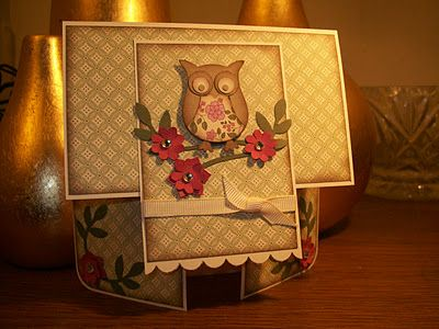 Owl Punch=Double Dutch Fold Cards