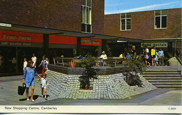 camberley town centre (1970s...)