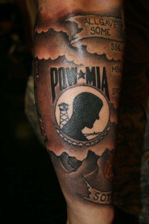 pow mia tattoo pinterest tattoos and body art