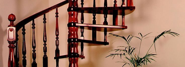 TORNEADOS FUENTESPALDA / Barandillas y escaleras de madera, forja, hierro, acero inoxidable y cristal » ESCALERAS DE CARACOL Y HELICOIDALES