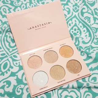 First impression, swatches and review of the Anastasia Beverly Hills Nicole Guerriero Glow Kit, as well as a major tip to get your best highlight yet.  #ABHCosmetics #Highlighter #Makeup #Beauty