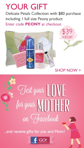 Mom will love a gift from L'Occitane!