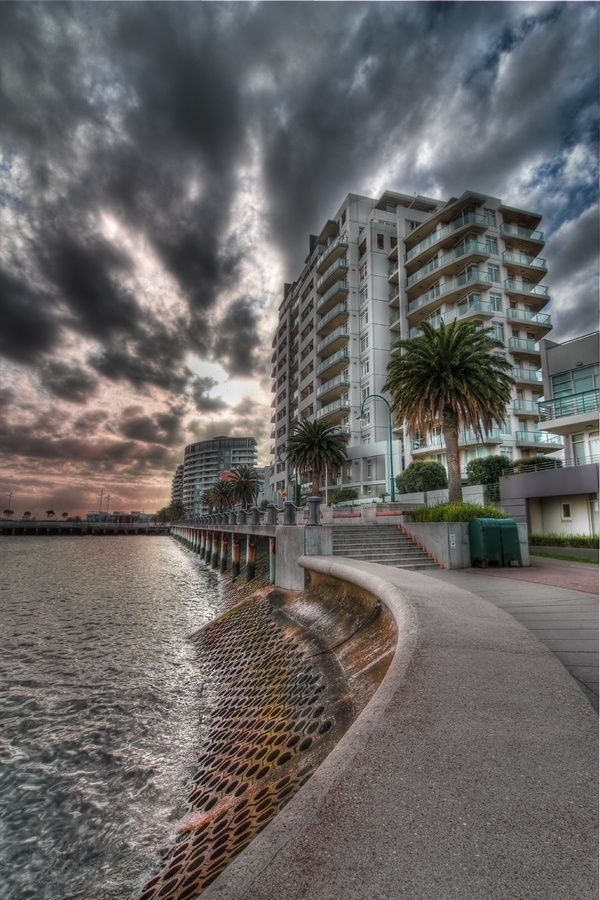 Port Melbourne by Tim Smallman