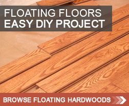 read all about floating hardwood floors and the advantages of using a floating floor setup