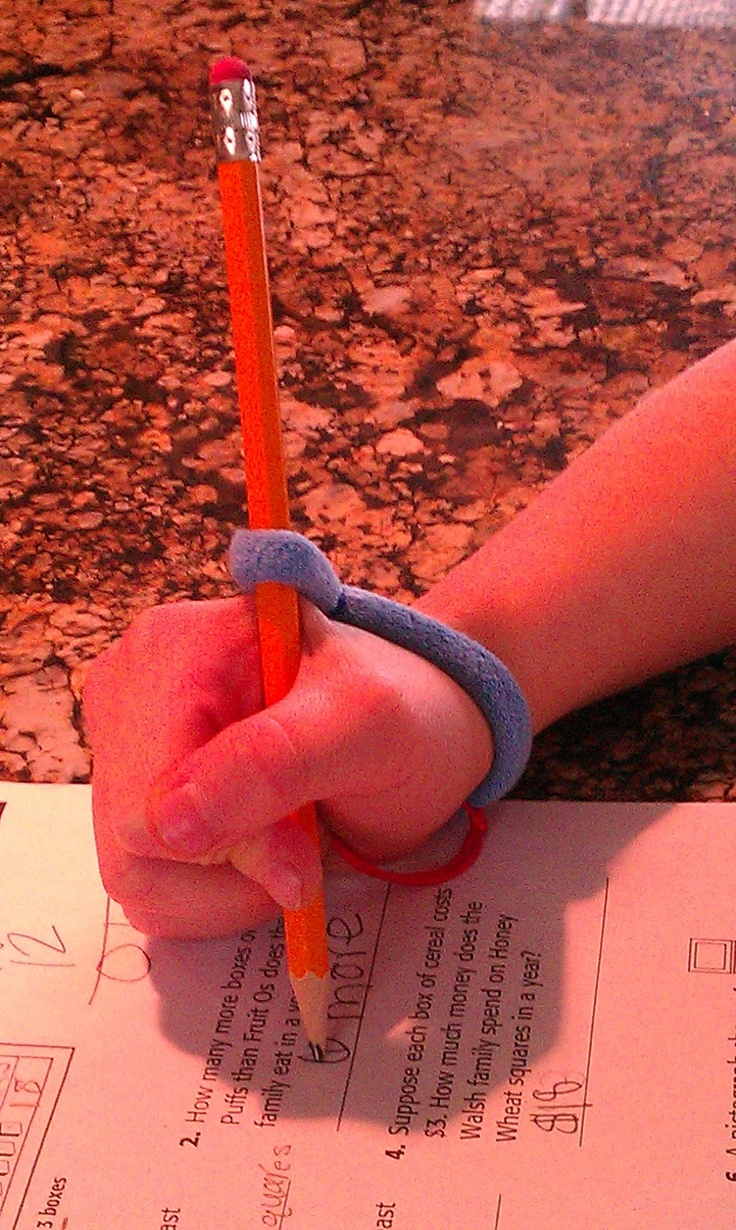 Therapy Fun 4 Kids: Help with pencil grip. Pinned by SOS Inc. Resources. Follow all our boards at pinterest.com/sostherapy for therapy resources.