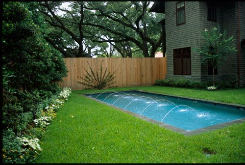 Small Backyard Pool Landscaping | ... minimalist landscape design with small pool design for backyard