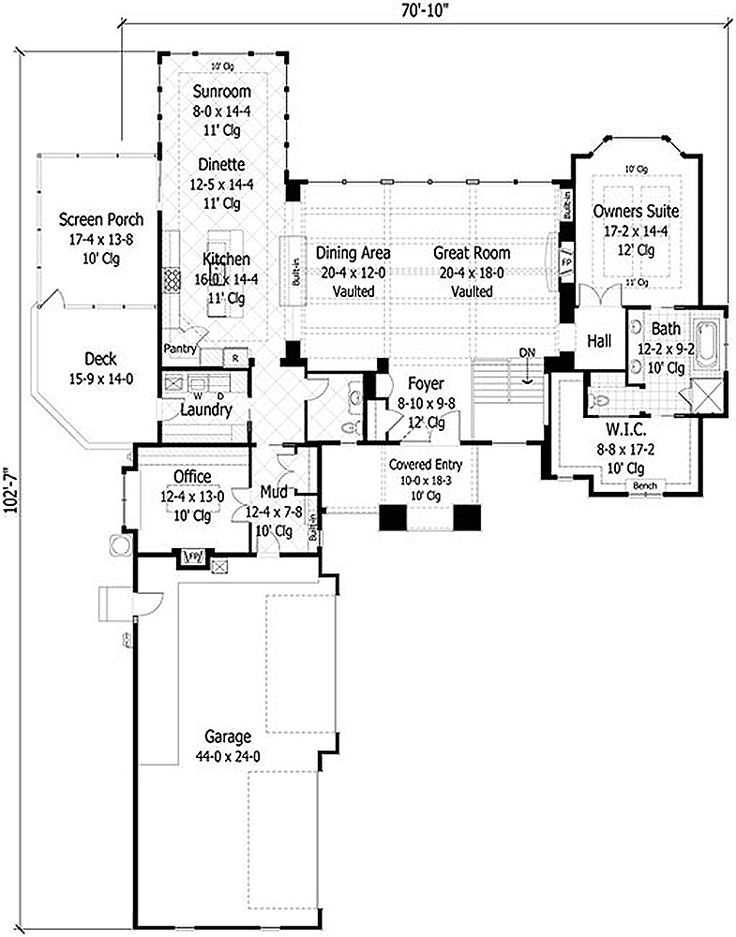 110 best images about home house plans on pinterest for Houseplans com craftsman