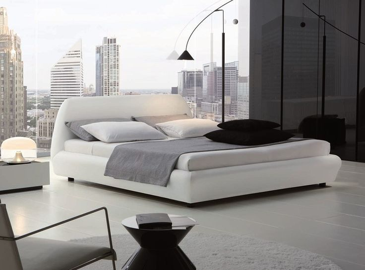 Downtown Upholstered Italian Bed by Rossetto - $1,935.00