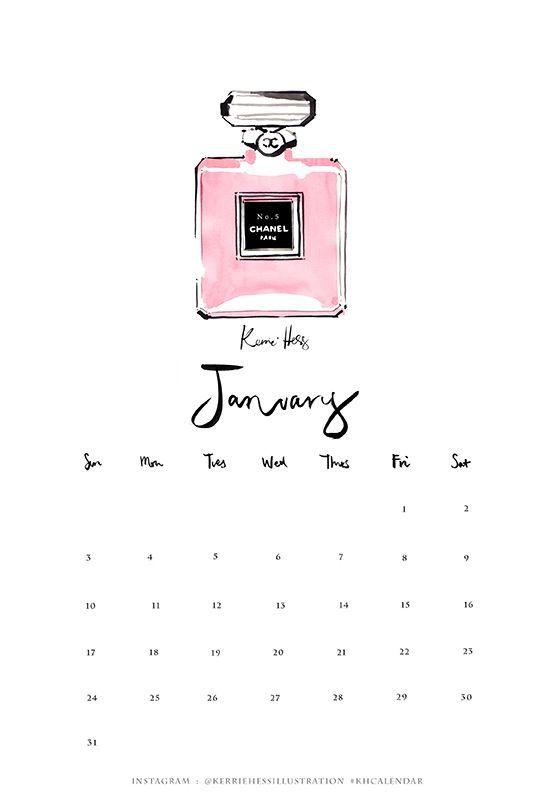 Kerrie Hess Calendar 2016