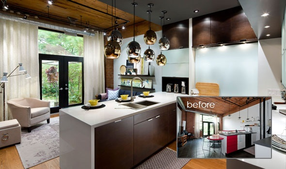 Lofty Kitchen Design