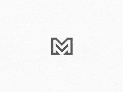 """Letter """"M"""".  #logo #logomark #letterM http://inkbotdesign.com/"""