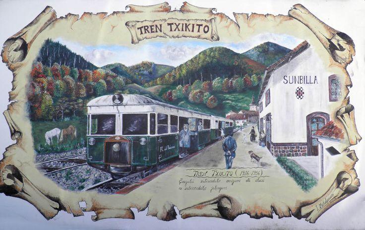 """En Conmemoración de los 100 años del Tren Txikito del Bidasoa un grupo de radioaficionados crean el diploma """"Tren Txikito del Bidasoa"""""""