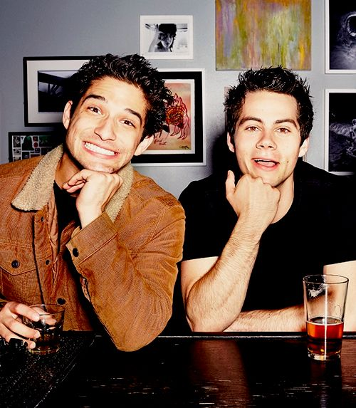 Tyler Posey & Dylan O'Brien- costars on teen wolf and beat friends in real life too