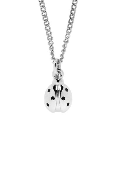 Ladybird Necklace Silver - Jewellery | Karen Walker