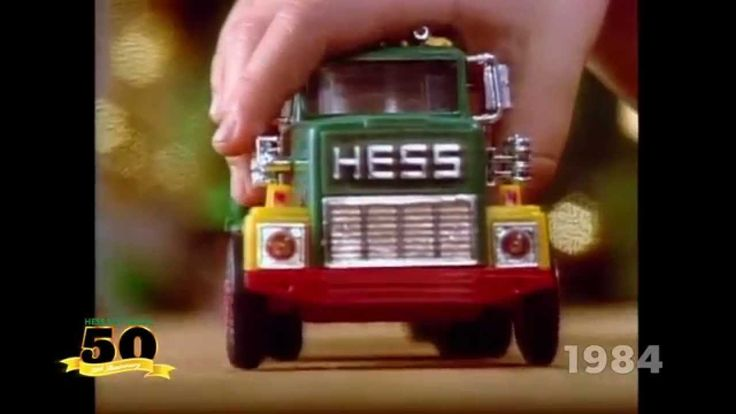 Commercial to show 50 years of Hess Trucks