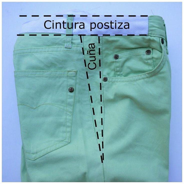 ¿Vuestro pantalón favorito os queda un poco justo? ¡No hay problema! Veamos cómo ensancharlo.