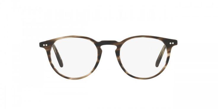 Oliver Peoples | Ryerson SM Cinder Cocobolo/Antique Pewter Optical Eyewear by Oliver Peoples