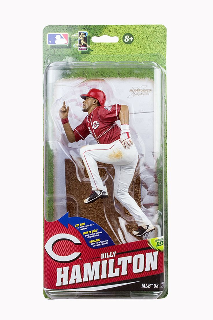 Cin Reds MLB McFarlane 33 Figure Billy Hamilton Red Jersey All Star Variant