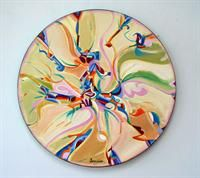 Alex Janvier is aboriginal artist of Dene Suline and Saulteaux descent who resides in Cold Lake, AB.  His style is unique. Many of his masterpieces involve an eloquent blend of both abstract and representational images with bright, often symbolic colors. Alex' work is celebrated both nationally in the Canadian Museum of Civilization and internationally in Paris, France.