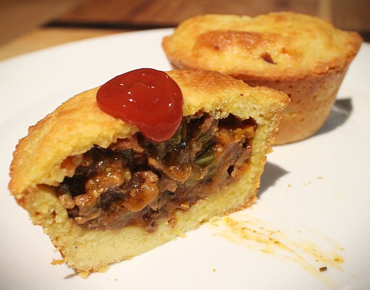 Every true Aussie loves their meat pies. Full of yummy fillings, this one  will be a hit at get togethers.