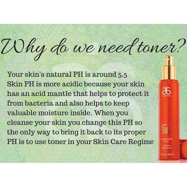 Why do we need toner? To send an order, book a party or be a part of my team, contact me anytime!  cynthiamarlowe.arbonne.com