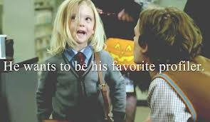 Possibly the cutest moment ever in Criminal Minds, Henry as Dr Spencer Reid for Halloween :)
