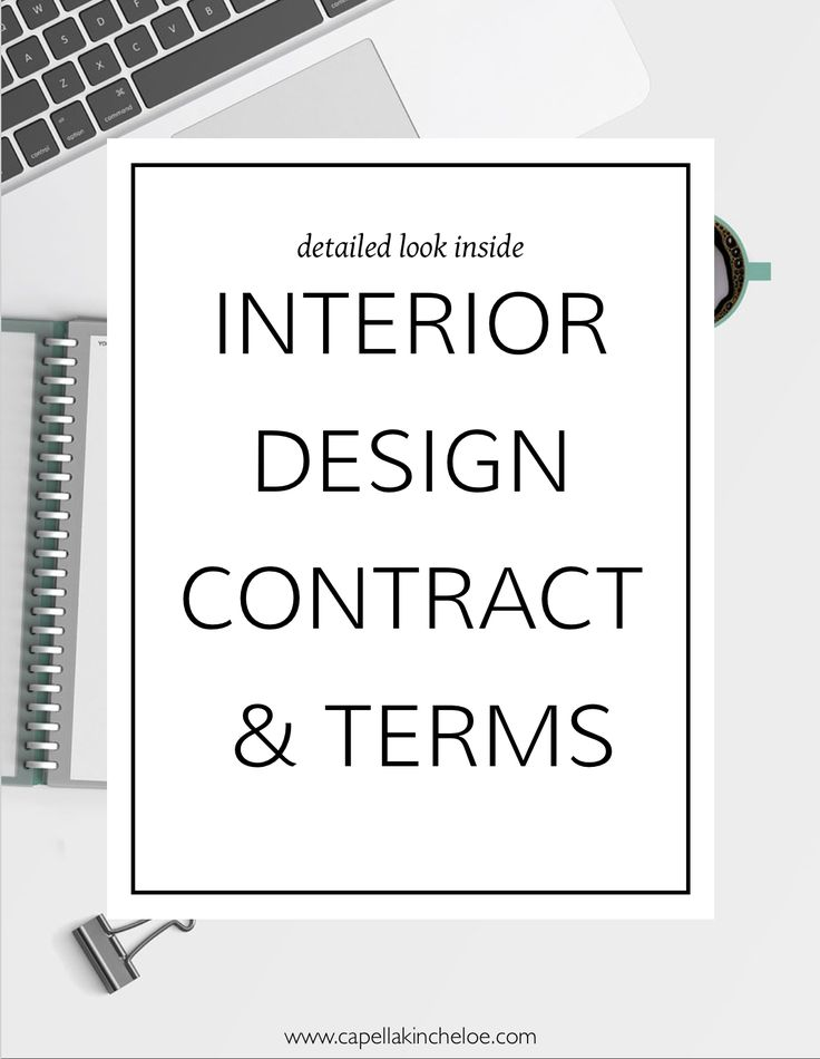 1423 best interior design and decor images on pinterest for Interior design client contract