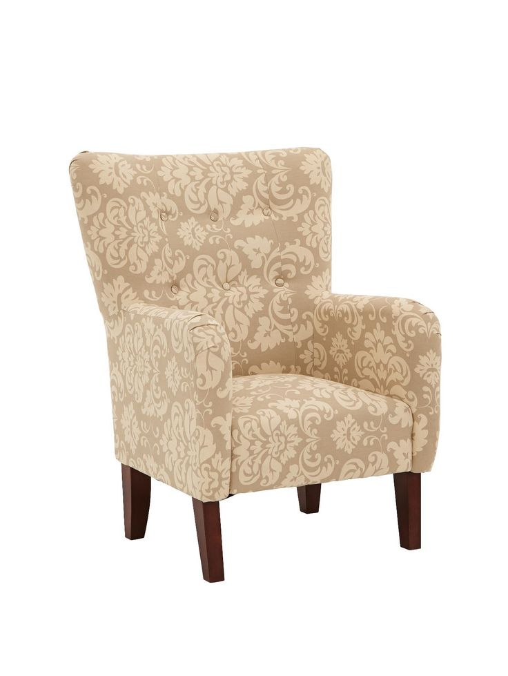 Milly Printed Fabric Accent Chair | very.co.uk