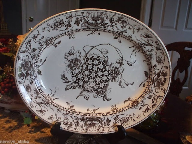 310 Best Images About Brown Transferware On Pinterest