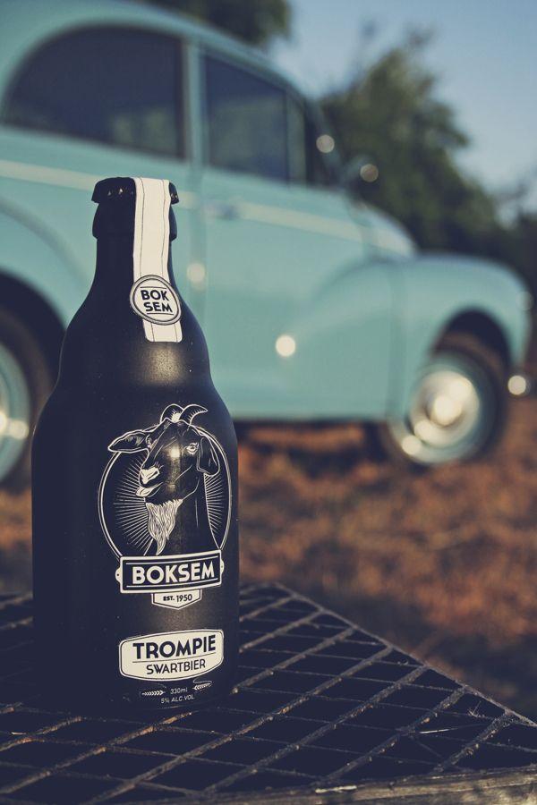 Get your goat. Boksem Bier - Craft Beer Packaging by Janus Badenhorst, via Behance