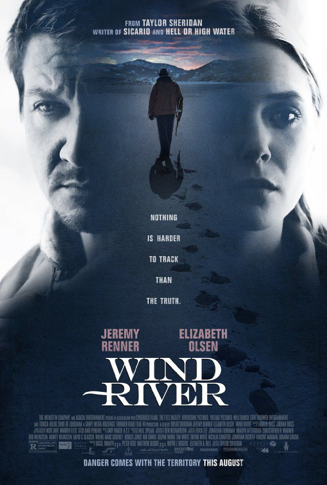 Coming Soon to a Theatre Near You:  Wind River  (2017)  An FBI agent (Elizabeth Olsen) teams with a town's best game tracker (Jeremy Renner), with deep community ties and a haunted past, to track down a killer on a remote Native American Reservation.  Hey, I'll see anything with Elizabeth Olsen in it. She is one of our best young actors out there. https://lastonetoleavethetheatre.blogspot.com/2017/07/war-for-planet-of-apes.html