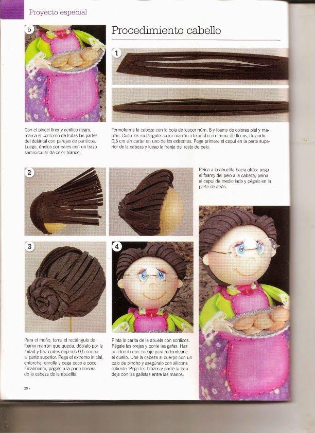 Como hacer una gallina fofucha - Revistas de manualidades Gratis