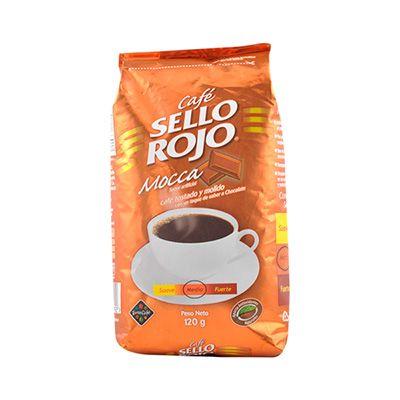 SELLO ROJO - Cafe Sello Rojo Mocca (coffee from Juliana - gotta buy more!)