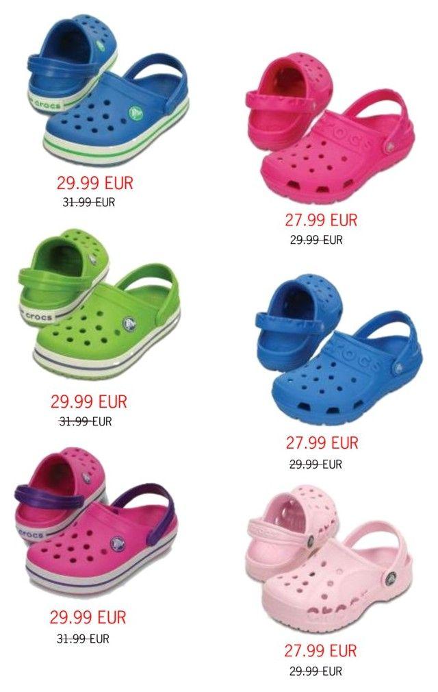 """""""Detské Crocs"""" by nanohy on Polyvore"""