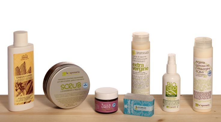 Selezione prodotti ecobio per la cura del corpo by La Saponaria, Karawan Authentic, Officina Naturae  www.wecream.it | info@wecream.it